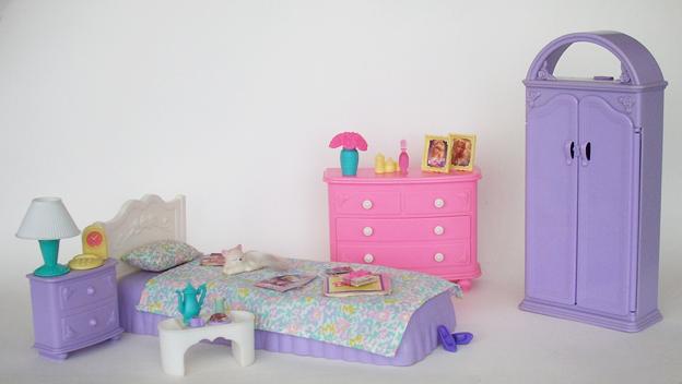 BARBIE BEDROOM – 1994 – My Barbie Site