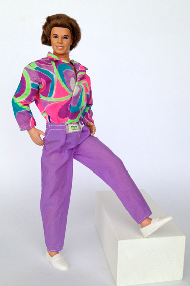 KEN ULTRA HAIR – 1992 – My Barbie Site