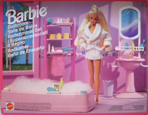 Vasca Da Bagno Barbie Anni 80 : Barbie bathroom u u my barbie site