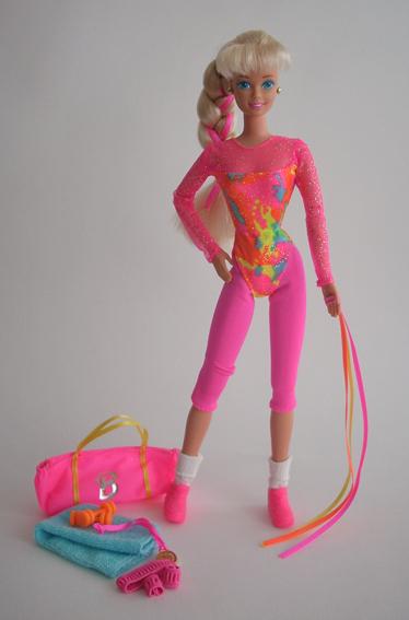 barbie ginnasta